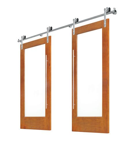 Double Slimline Barn Door Slider  sc 1 st  Mandy Li Collection & Doors - Mandy Li Collection